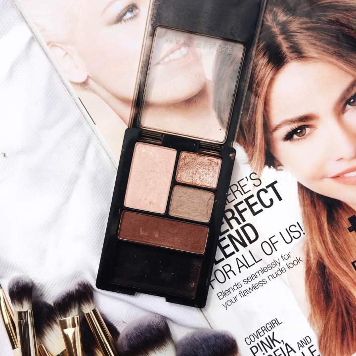 maybelline, nude eyeshadow pallete, nude makeup, how to get a nude eye look