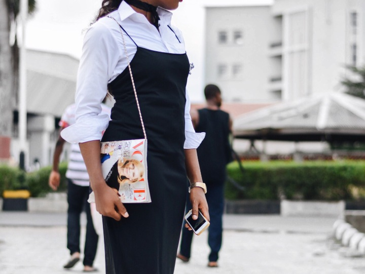 slip dress, how to style a white shirt, slip dress for work