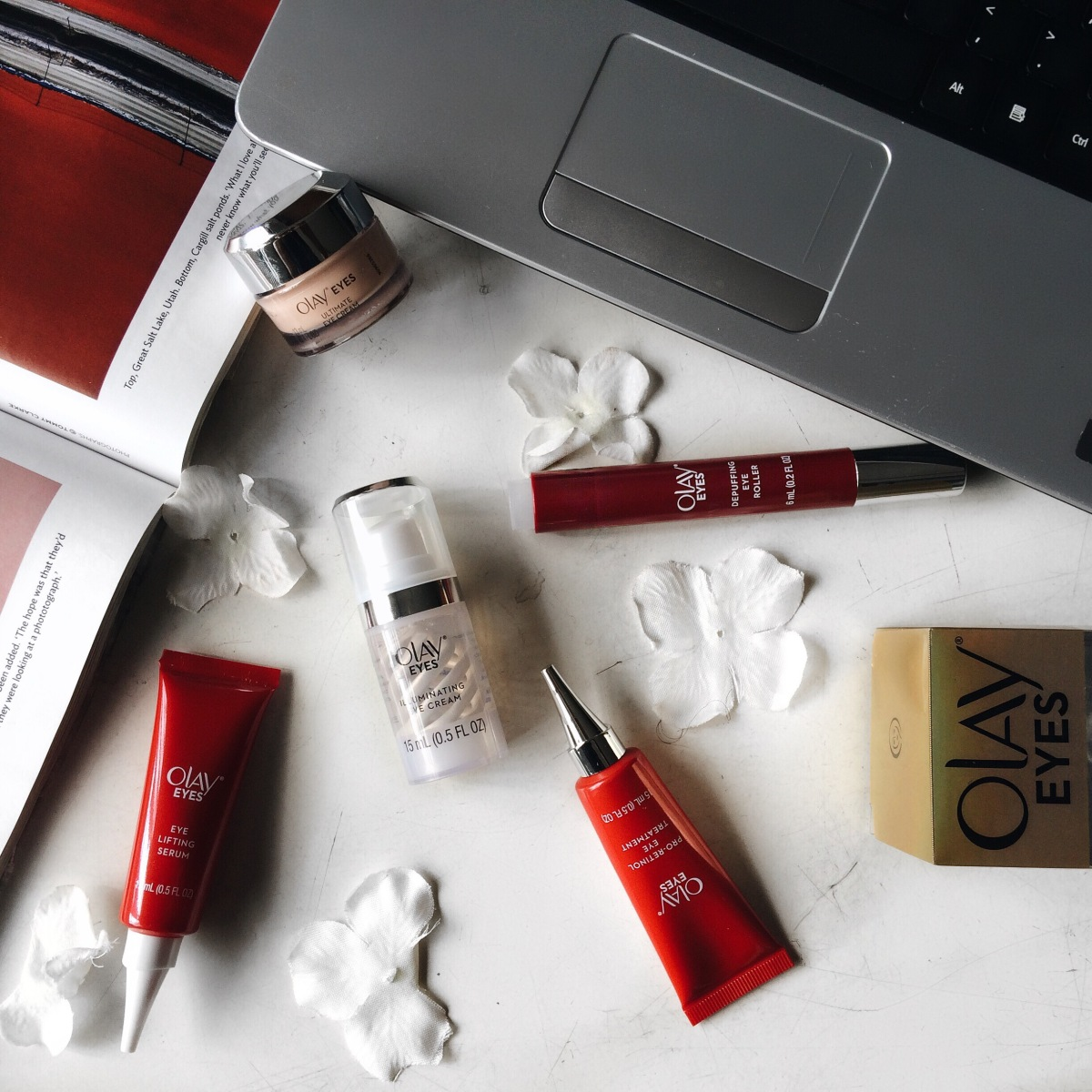 New Skincare Routine Featuring The New OLAY Eyes Collection