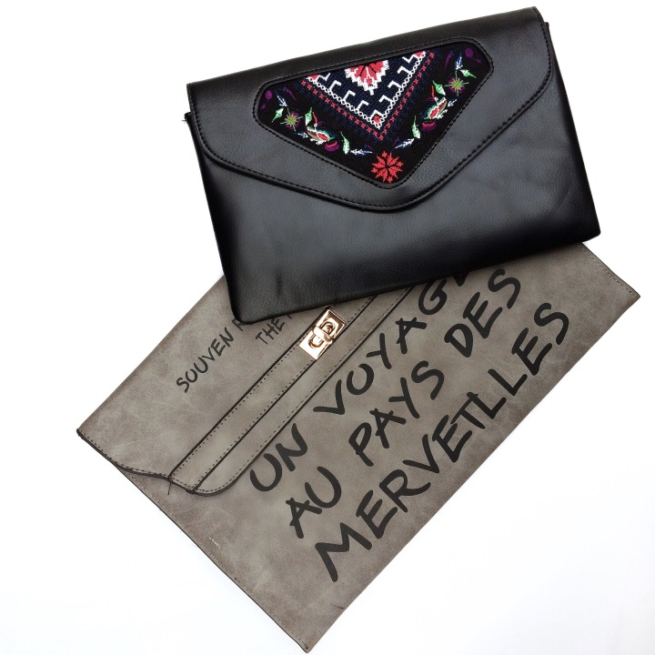 Gucci embroidered purse