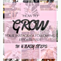 5 EASY WAYS TO GROW YOUR INSTAGRAM PAGE.