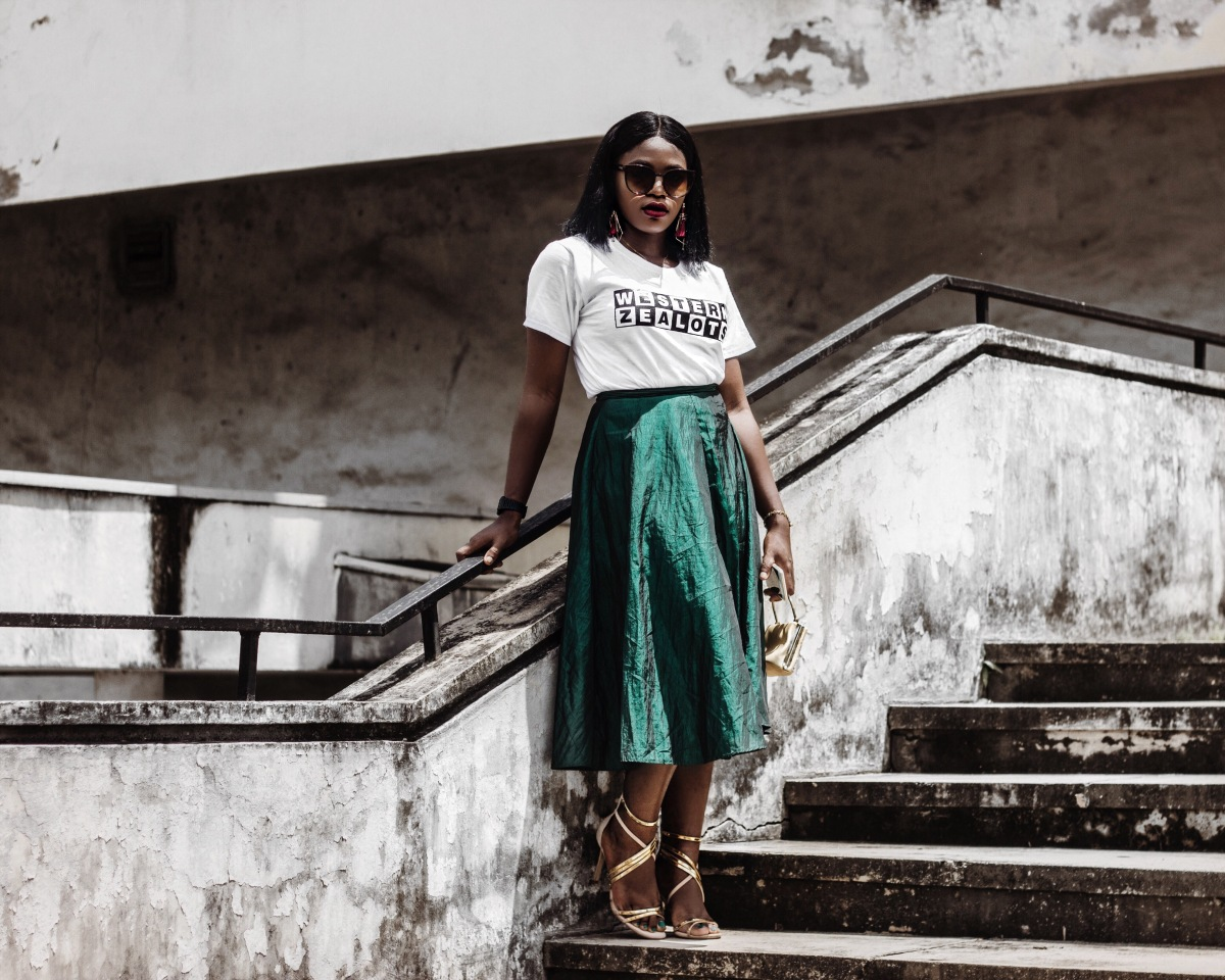 DRAPED IN GREEN & WHITE AND SHARING 10 FUN FACTS ABOUT LAGOS